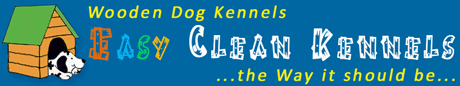 Easy Clean Dog Kennels